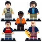 Downtown Diner Stranger Things Dustin Eleven Lucas Mike minifigures Lego Compatible Toys