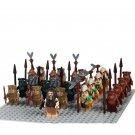 Star Wars Ewok Village army minifigures Lego 10236 Compatible Toys