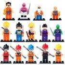 Goku Krillin Vegeta Minifigures DRAGON BALL Lego Comic sets Compatible Toys