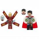 Avengers Infinity War Iron Man Doctor Strange minifigures Lego Compatible Toys