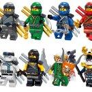 Suit Zane Jay Kai Cole Minifigures Ninjago sets Lego Compatible Toys