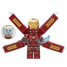 Iron Man Minifigures Avengers 3 Great War Thanos Lego Compatible Toys