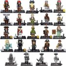 Pirates of the Caribbean Silent Mary Minifigures Lego Compatible Toys
