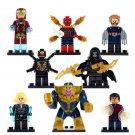 Iron Man Star-Lord Gamora Thanos minifigures 2018 Avenger Infinity War Lego Compatible Toys