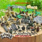 Afghanistan war on terror U.S. Seals Soliders minifigures Lego Military sets Compatible