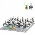 Star wars First Order Stormtrooper Yoda minifigures Lego Compatible Toys
