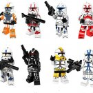 Clone Trooper Army Shock Troopers minifigures Lego Star Wars set Compatible Toy