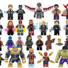 26 pcs Avengers Super Heroes Lego Minifigures Compatible Toy