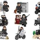 SWAT Assault Soldiers Minifigures Lego Military minifigure Compatible Toys
