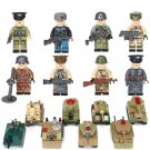 WW2 German vs Soviet Army Tank Battle of Kursk Toy Compatible Lego Military Soldier Minifigures