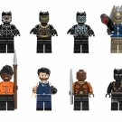 Super Heroes Black Panther Movie Minifigures Compatible Lego Minifigures building block Toy