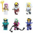 Comic set Saint Seiya Building Block Toy Athena Saori Kido minifigures Compatible Lego Toys