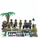 World War II Britain Soldier Military Building Block Toy Compatible Lego Minifigures Toy