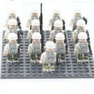 Royal Air Force Soldiers minifigures WW2 Soldiers Building block Toy Compatible Lego Military