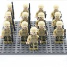 WW2 British Soldiers minifigures Battle of Britain Building block Toy Compatible Lego Military