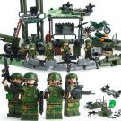 SWAT Soldier Military Base Scenes Soldier Unmanned Compatible Lego Military Minifigures