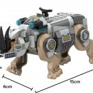 Black Panther building block Toy Rhino Minifigures Compatible Lego Rhino Face-Off by the Mine