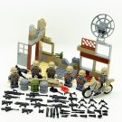 The Battle of Berlin U.S Soldiers Commando Minifigures Compatible Lego Military Building Block Toys