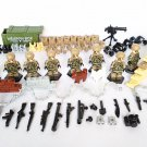 Special Forces Soldiers Minifigures SWAT building block Toy Compatible Lego Military Toy