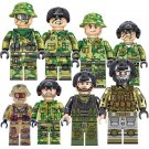 Camouflage Special Forces Minifigures S.W.A.T.building block Toy Lego Military sets