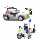 Police Minifigures Police Car Motorcycle Compatible Lego Police Station Toys