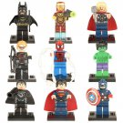 Avengers movie building block Toy Hawkeye Spiderman Hulk Minifigures Compatible Lego Super Heroes