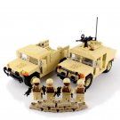 U.S. Army soldiers minifigures Hummer building block Toy Compatible Lego Military Minifigures