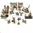 S.W.A.T Military Base Soldiers Minifigures Building block Toy Compatible Lego Military set