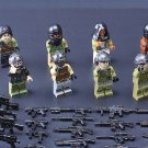 American S.W.A.T Terrorists Minifigures Compatible Lego Military Building block Toy