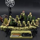 American Military Base Soldiers Minifigures Compatible Lego WW2 Military