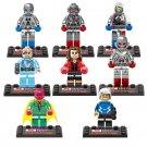 Scarlet Witch Vision Minifigures Compatible Lego Marvel Super Heroes