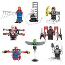 Spider-Man Minifigures Compatible Lego Super Heroes set