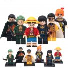 One Piece Nami Robin Zoro Luffy Minifigures Compatible Lego Toy Minifigures