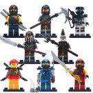 Zane Skylor Jay Kai Minifigures Compatible Lego Ninjago set