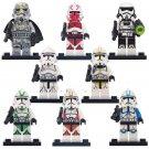 Mimban Stormtrooper Clone Trooper Gunner minifigures Compatible Lego Star Wars Clone Trooper
