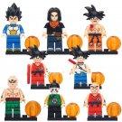 Dragon Ball Z Minifigures Son Goku Vegeta Krillin Toy Compatible Lego Comic set