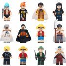 Luffy Sanji Franky One Piece Minifigures Toy Compatible Lego Toy Japan Comic Minifigure