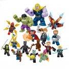 Avengers Infinity War Character Minifigures Compatible Lego movie Superhero