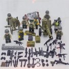 America WW2 soldiers Minifigures Compatible Lego WW2 Military