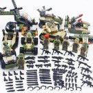 Jungle Assault Soldiers Minifigures Compatible Lego Military S.W.A.T series