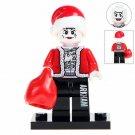 Batman Joker Santa Claus Minifigures Compatible Lego Christmas gift