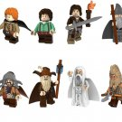 Lord of the Rings set Gandalf Frodo Baggins minifigures Lego Compatible movie minifigure