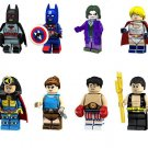 Batman Power Girl Minifigure Lego Compatible Toy Movie series