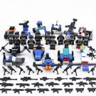 S.W.A.T. Police City Minifigures Lego Compatible City Police