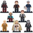 Solo Maz Kannata Snoke Minifigures Lego Compatible Solo A Star Wars Story Toy