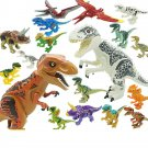 16 pcs Triassic Period Dinosaur Toy Lego Compatible Jurassic World  Minifigures