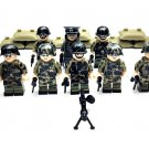 Military sets German soldiers minifigures Lego Compatible WW2 soldiers
