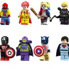 8pcs Joker Drax the Destroyer Minifigures Lego Toy Compatible Super Heroes