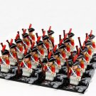 British Royal Navy soldiers minifigures Lego Compatible Pirates of the Caribbean