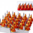 21pcs Middle Ages Cruciata Soldiers minifigures Lego Compatible Military Soldiers